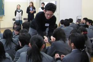 チャレンジ学生(佐藤くん)