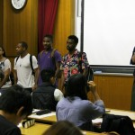 JCLPの学生たちがアメリカから来ました