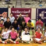 バドミントン部が西日本学生バドミントン選手権大会で3位に入賞しました