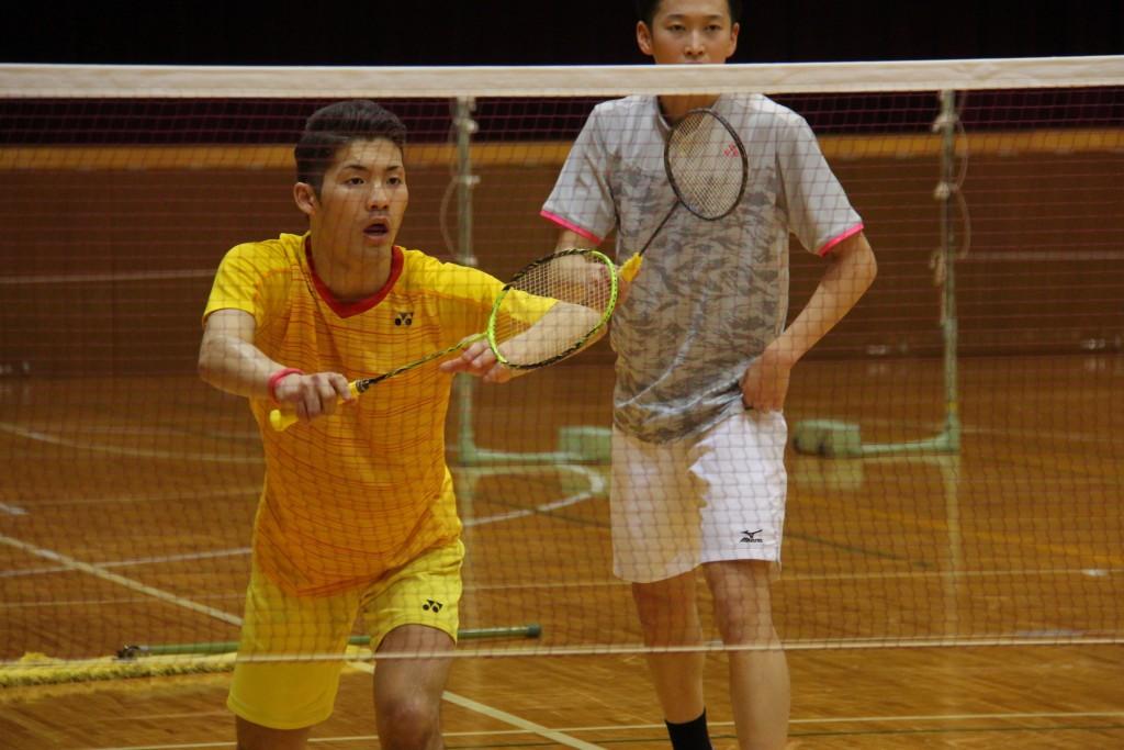 小川桂汰さん(左)