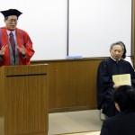 2017年度後期 入学式式辞