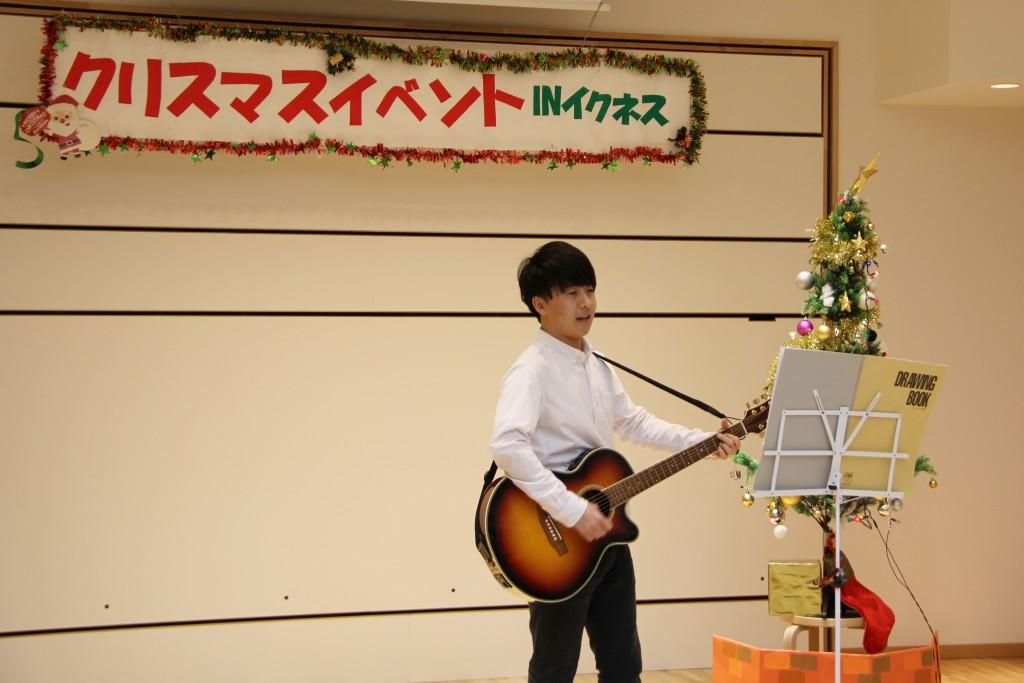 軽音楽部によるアコースティックギターの演奏 その2