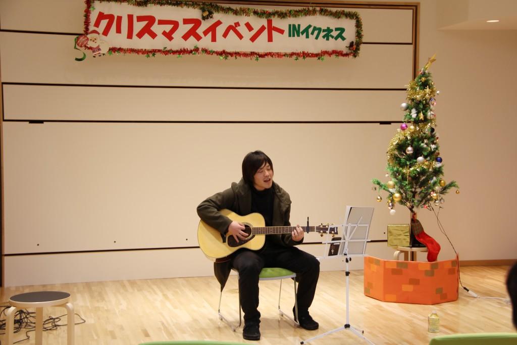 軽音楽部によるアコースティックギターの演奏 その1