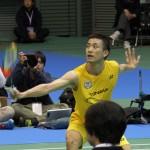 全日本総合バドミントン選手権大会にて、卒業生の 武下利一さんが優勝しました
