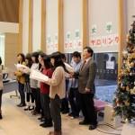 クリスマス行事と阿賀北ロマン賞審査会がありました
