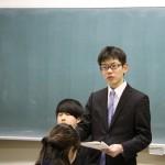 4年間の学びを伝える「教職課程報告会」を開催しました