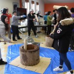 新年恒例の「留学生交流会もちつき大会」を開催しました
