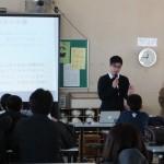 加治川中学校で、本学学生が児童向けワークショップを実施しました