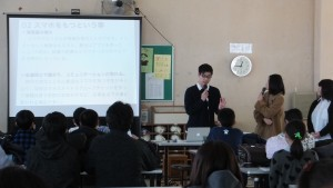 加治川中学校WS 20180201