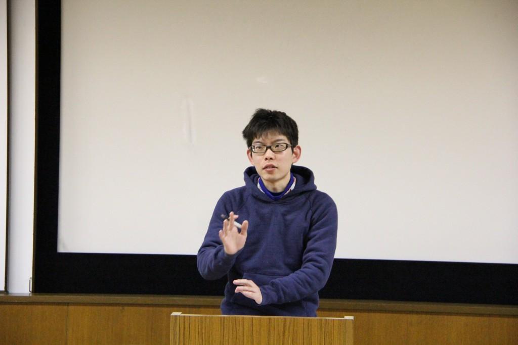清野さんの卒業論文発表