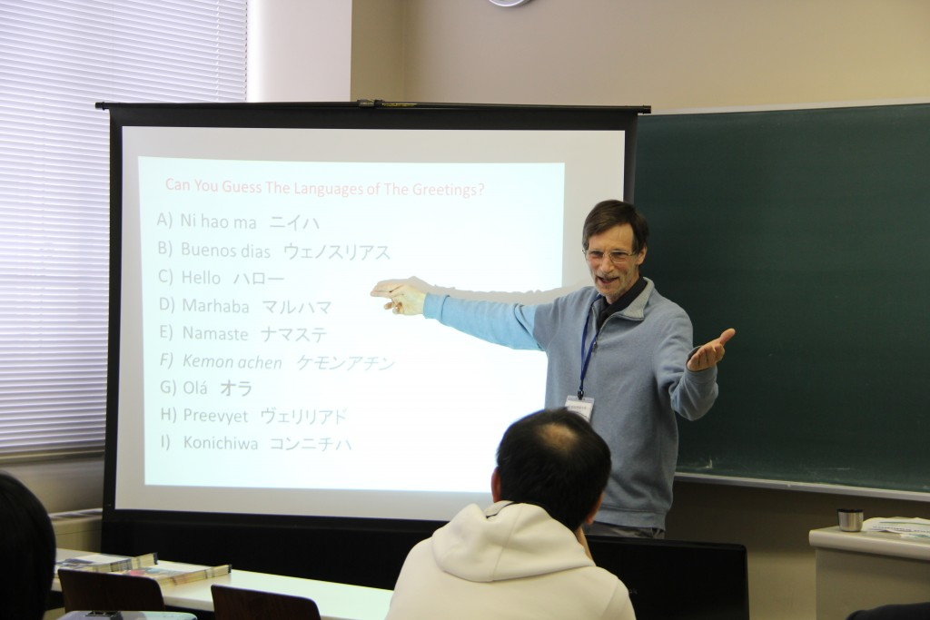 Gregory Goodmacher先生「Why Study English at Keiwa?」