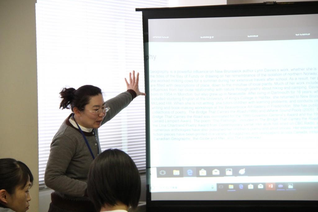 荒木陽子先生「世界と繋がろうーコミュニケーション演習とそれを支えるKEEPー」