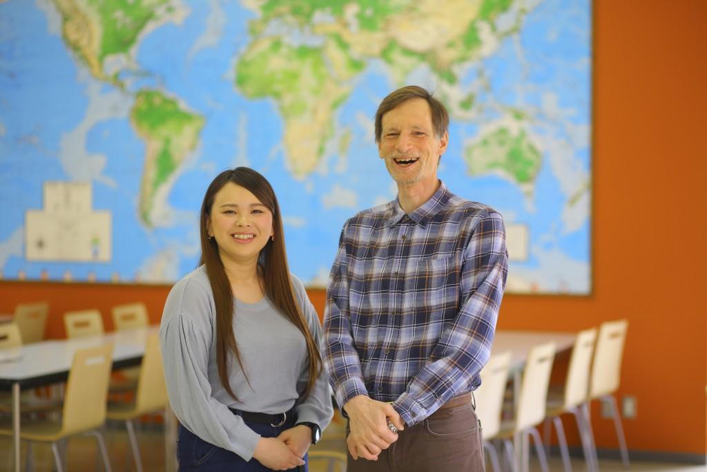 阿部さんとグッドマーカー教授
