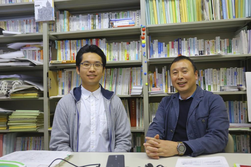 島倉さんと趙教授