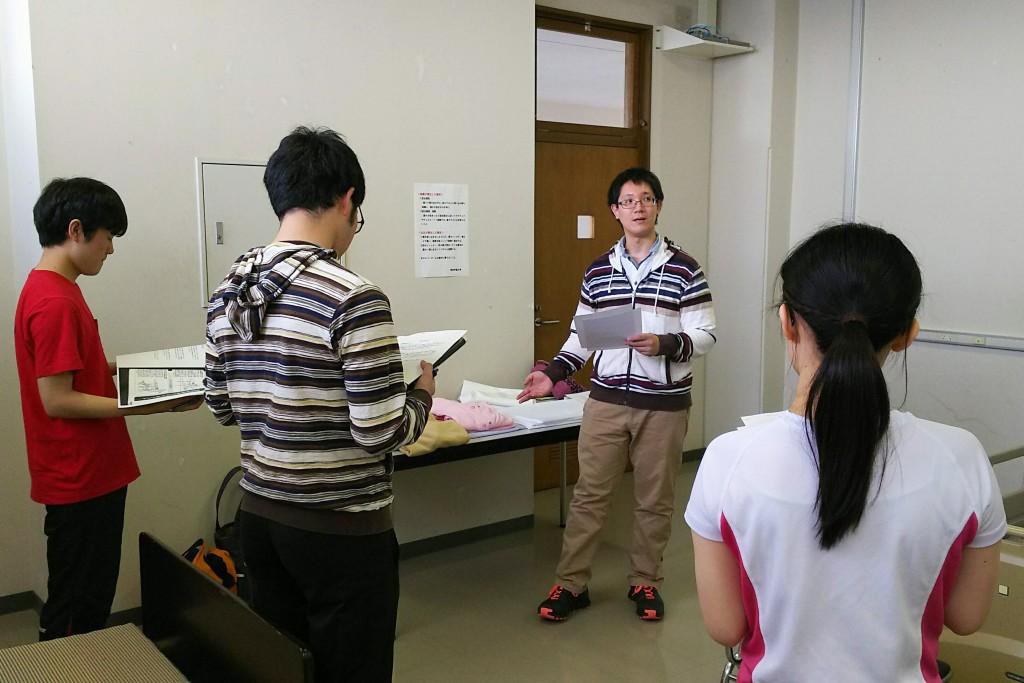講師としてお招きした卒業生の丸山さん(写真中央)