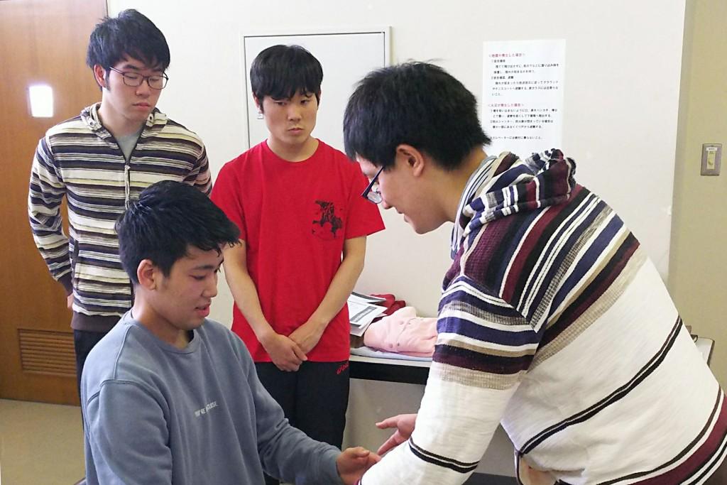 丁寧な指導で学生たちの理解も深まりました