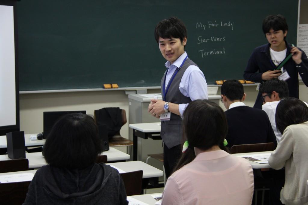 主濱祐二先生「海外ドラマで学ぶコミュニケーション英語学」