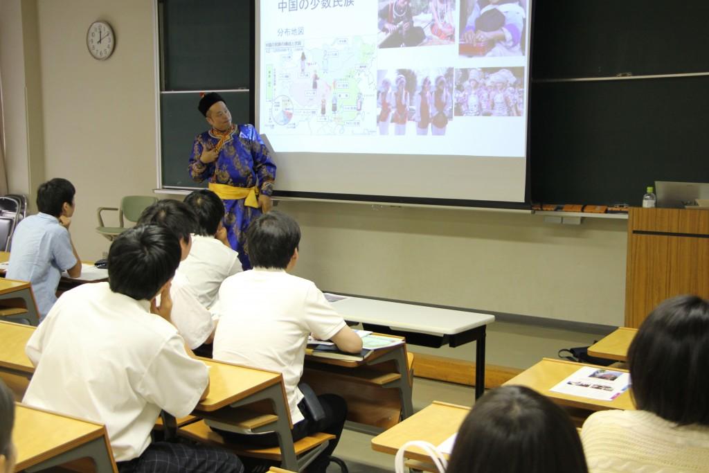 木下光弘先生「国際関係に翻弄される人びと-知られざる中国現代史」