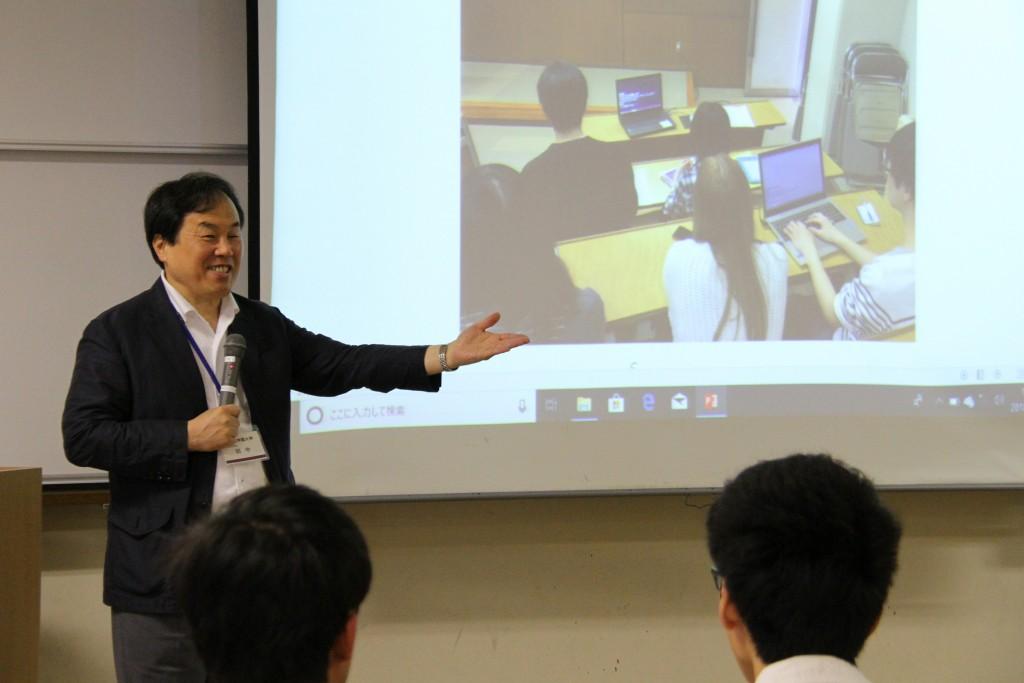 田中利光先生「ナンバーワンよりもオンリーワンだよね」「そだねー」