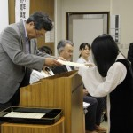 広東海洋大学寸金学院 国外特別聴講学生 修了式式辞
