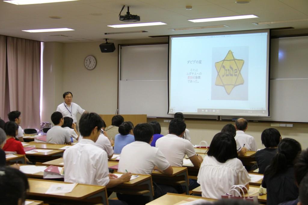 田中利光先生「子どもたちを戦火から救えーあるユダヤ人女性の物語」