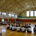 村上桜ヶ丘高校でワークショップ「事例で考えるネットトラブル」を実施しました