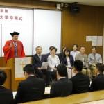 2018年度前期 卒業式式辞