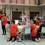 福祉施設の利用者さまをお迎えし、ふれあいバラエティを開催しました