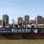 ミズベリングの水上ステージで、JazzQuestが演奏させていただきました