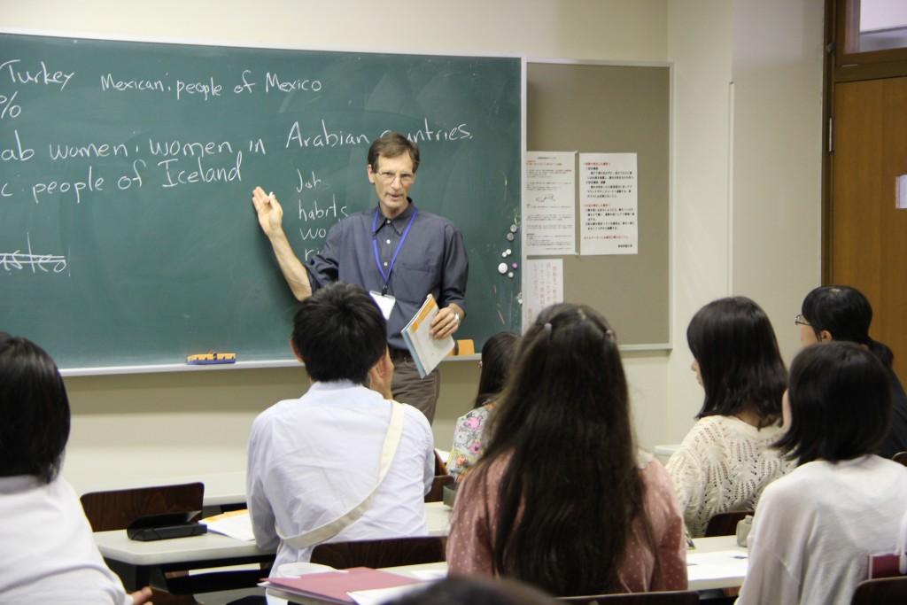 グレゴリー・グッドマーカー教授「文化交流論」