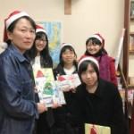 サンタ・プロジェクト・しばたを行います(12月1日から14日)