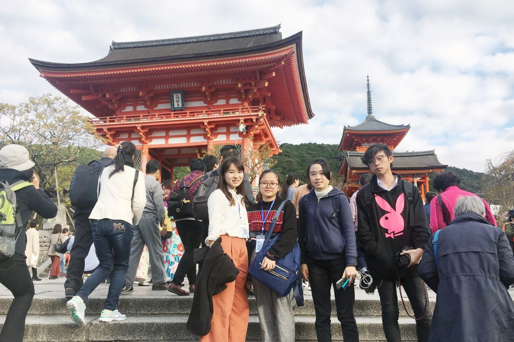 海外の友達に日本の文化を伝えることができました