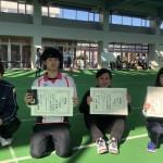 【敬和スポーツ】第22回北信越学生室内アーチェリー選手権大会で小田英慶さん、小林千尋さんが優勝!
