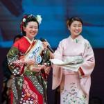 十日町きもの女王2019に敬和学園大学学生の小杉真奈さんが選ばれました