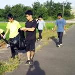 ランニングサークルが取り組む、小さな環境保全活動「クリーンウォーク」