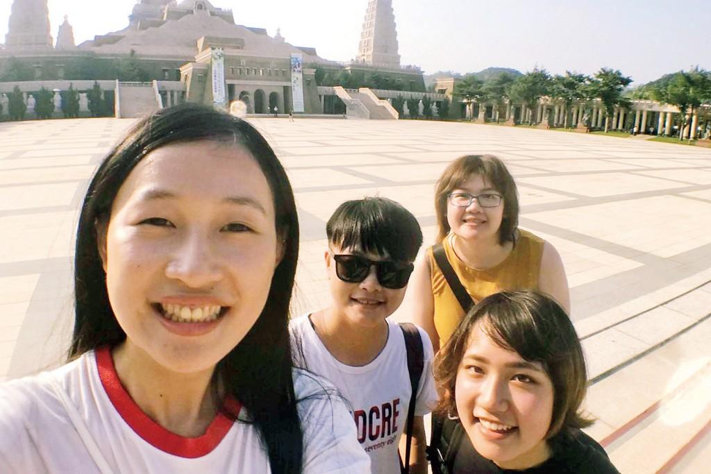 高校時代のブラジル留学で知り合った友達に会いに、台湾に行ってきました