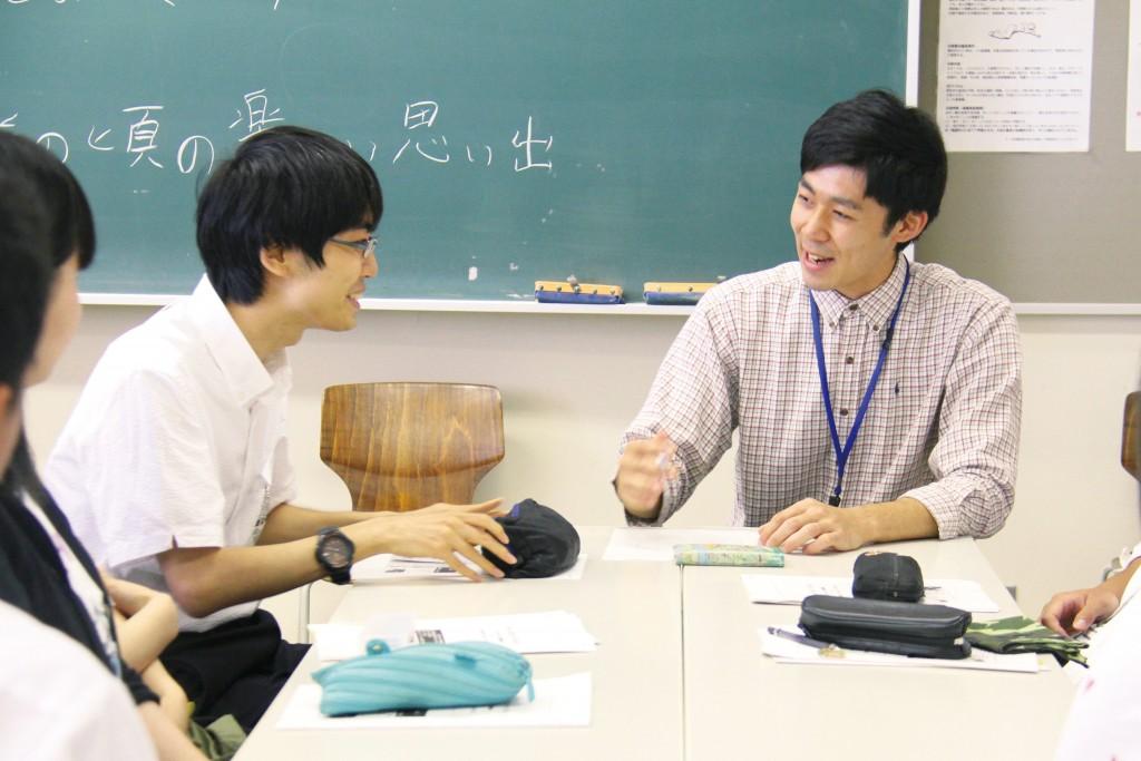 入学前に参加したオープンキャンパスでは、敬和学園大学の一人ひとりに寄り添う姿勢を感じました