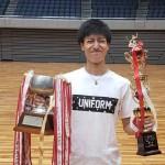 【敬和スポーツ】バドミントン部が第67回中部学生バドミントン選手権で優勝しました