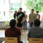 「新入留学生歓迎会」を開催しました