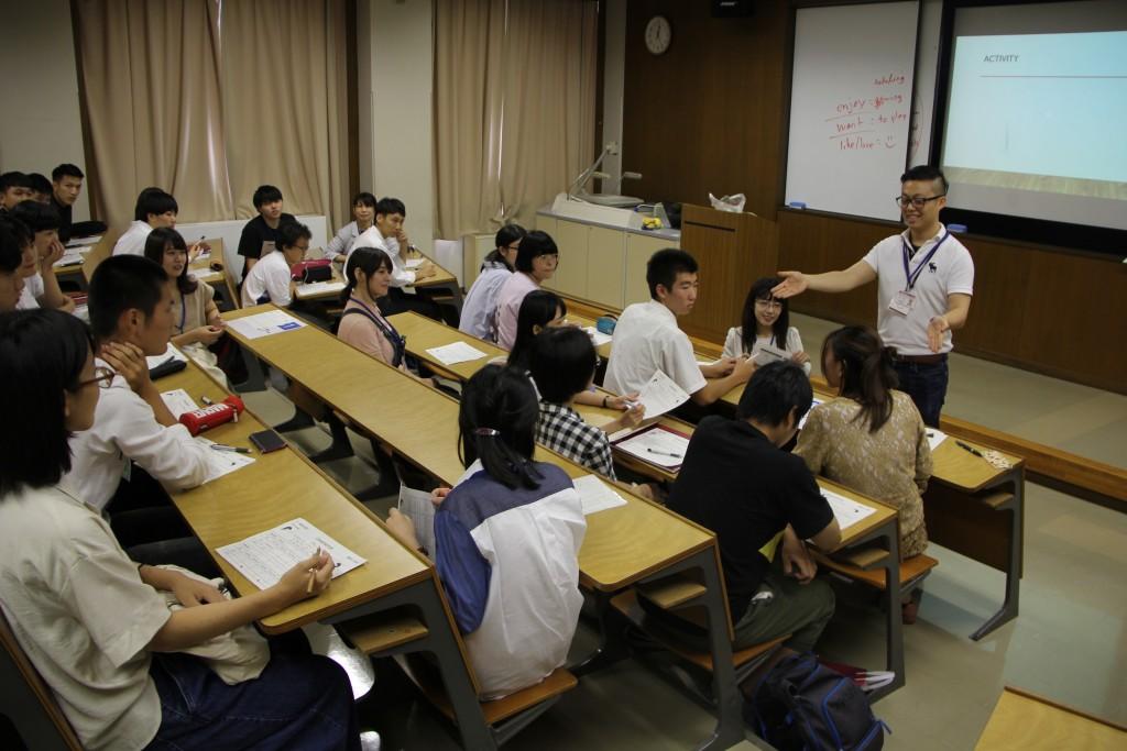 フィリップ・ウィン 講師「English skills for Communication」
