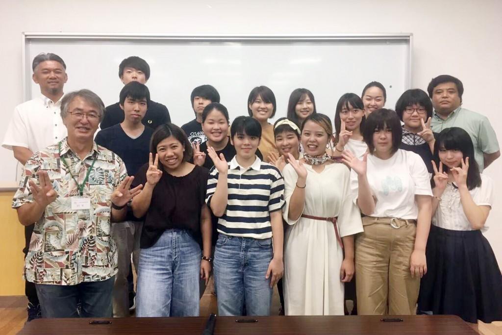 沖縄で共に学び、つながることができた仲間たち