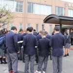 関根学園高校1年生の皆さまが大学見学に来学されました