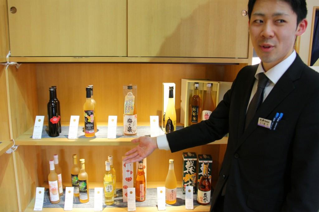 日本酒をはじめ、新発田ブランドの商品を取り揃えています