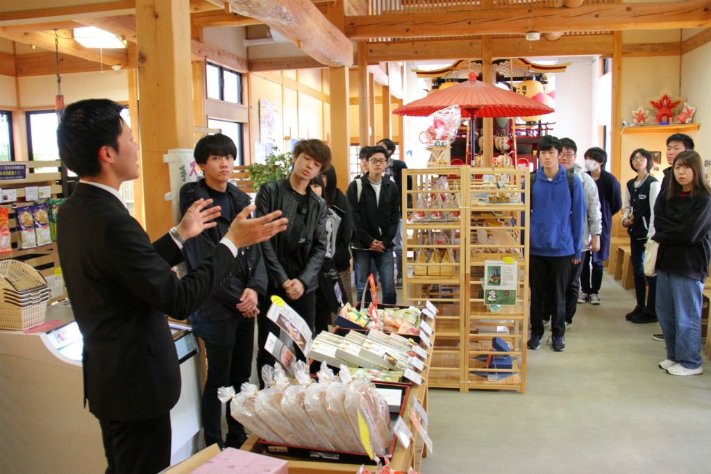 子ども台輪の展示も行っている「寺町たまり駅」