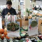 「地域学」で農家の直売所 とんとん市場さまを見学しました