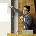 アニメプロデュースに関するゲスト講義が行われました