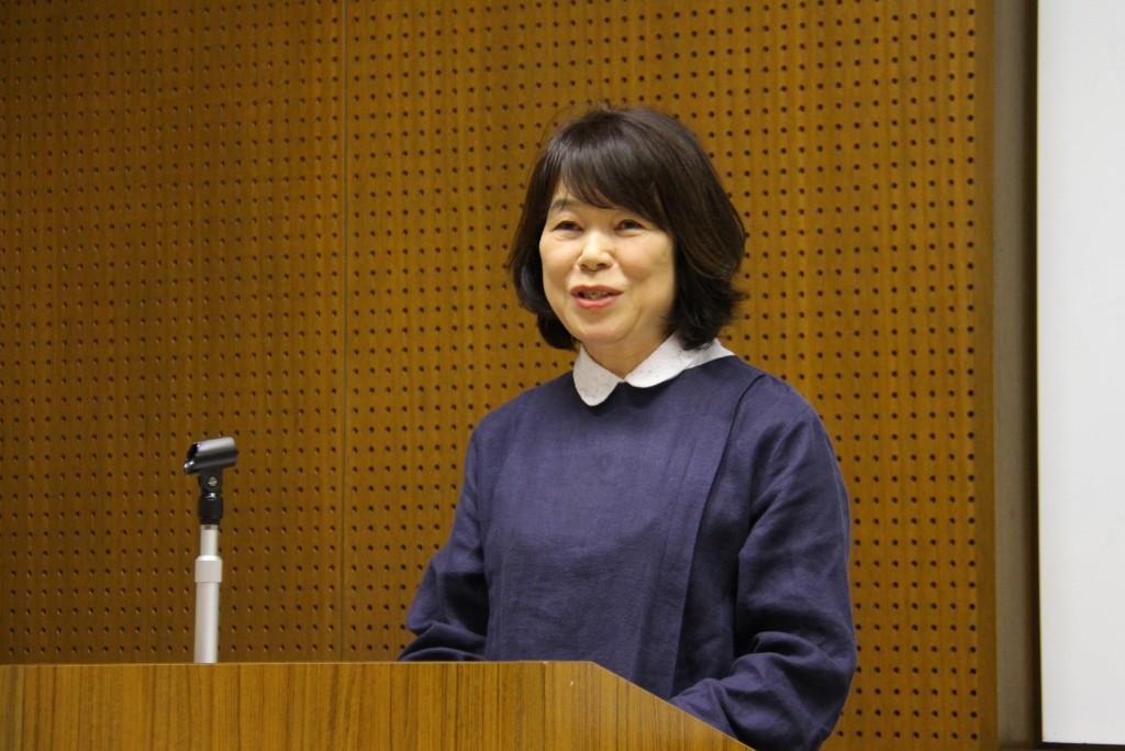 石塚美和子さん「松岡洋右とアメリカ~洋右がめざした和平~」(藤野豊 教授)