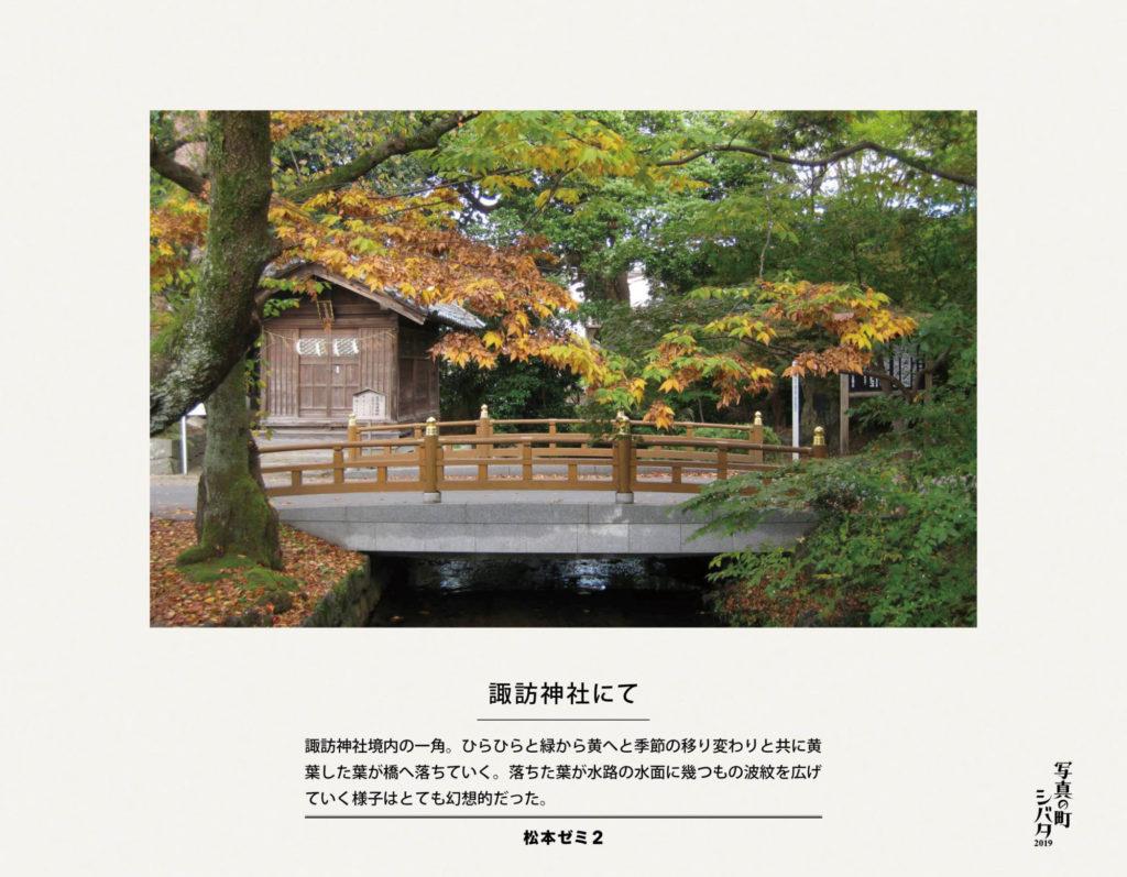 11 諏訪神社にて(松本ゼミ2)