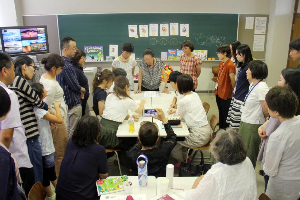 児童英語教育サマーセミナーには、外山節子先生の教え子たちがたくさん駆けつけてくれました