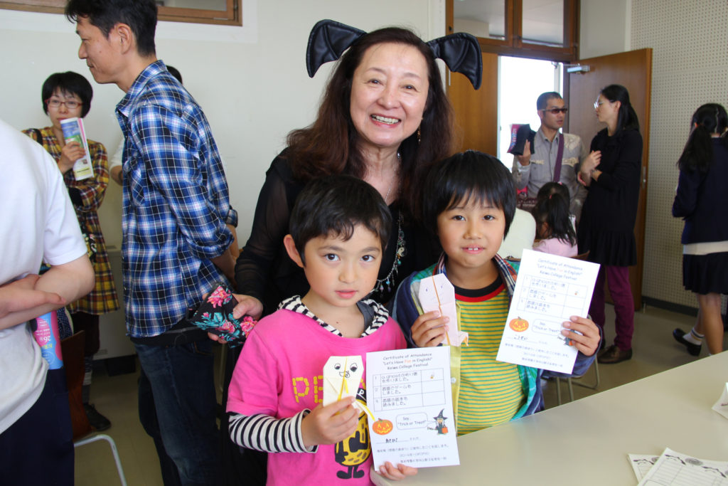敬和祭では、地域の子供たち向けにイベントを開催してくださいました